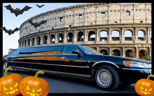Noleggio limousine a Roma per Halloween