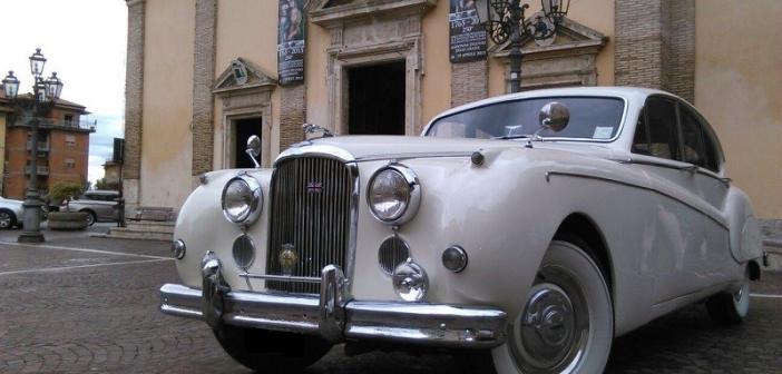 Affitto per matrimonio jaguar mk9 a roma