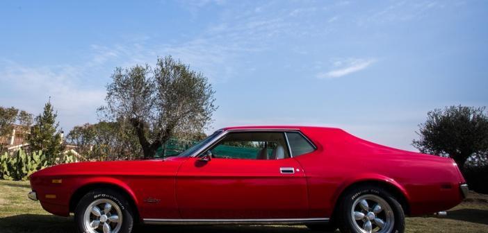 Noleggio Mustang Roma