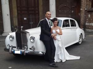Noleggio auto da cerimonia roma rolls Royce