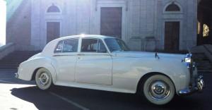 Rolls royce S1 roma noleggio
